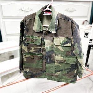 Sz 6 Kids Camo Combat Jacket